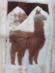 коврики из меха ламы