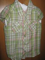 Рубашку для девочки