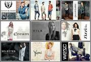 Сток одеждa для мужчин и женщин из Европы