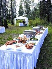 выездное ресторанное обслуживание: банкеты, фуршеты, свадьбы, пикники....