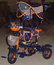 Новые детские 3-х колесные велосипеды